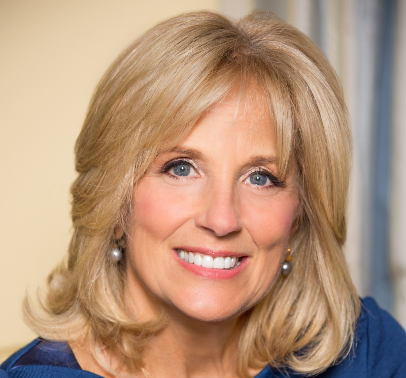 Jill Biden. Photo is in the Public Domain.