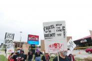 Protest at Berrada Properties. Photo taken September 1st, 2020 by Graham Kilmer.