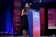 Michelle Malkin speaking at the 2016 Conservative Political Action Conference. File photo by Gage Skidmore from Peoria, AZ, United States of America / CC BY-SA (https://creativecommons.org/licenses/by-sa/2.0)