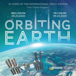 Orbiting Earth Square