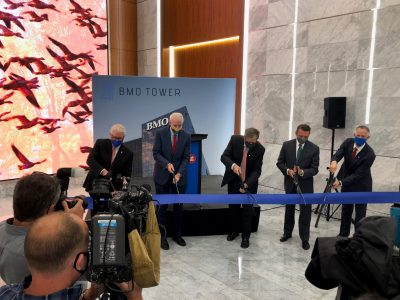 Plats and Parcels: BMO Tower Officially Opens