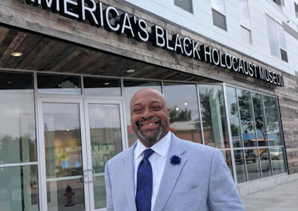 Dr. Robert Davis returned to Milwaukee in September 2019 as the president and CEO of America's Black Holocaust Museum. Photo provided by America's Black Holocaust Museum.
