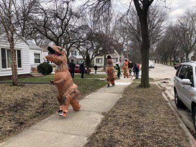 Neighborhood Festivals Become Porch Parades