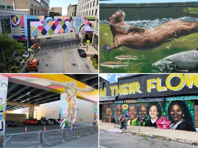 Visual Art: See All of Downtown Milwaukee's New Murals