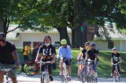 Red Bike and Green Milwaukee Gordon Parks bike ride. Photo by John Harvie.