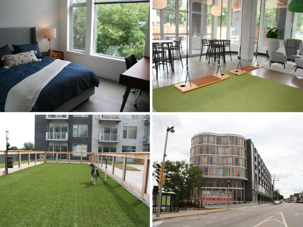KinetiK apartment complex. Photos by Jeramey Jannene.