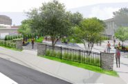 MATC Pocket Park rendering. Image from MATC.