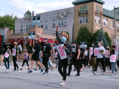 Protest Day 108: BLM March Goes to East Side, Shorewood
