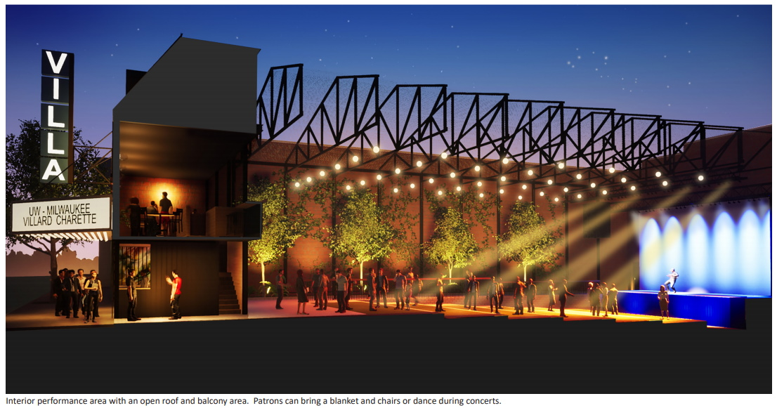 Villa Theater redevelopment concept. Image by Galbraith Carnahan Architects.