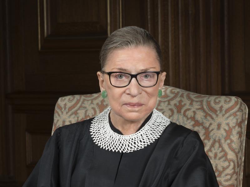 Ruth Bader Ginsburg. (Public Domain).
