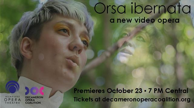 Orsa ibernata a new video opera