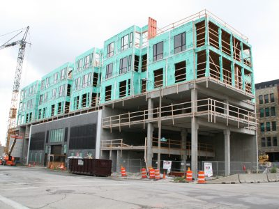 Friday Photos: Third Ward Lofts Rise