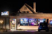 Patrons drink inside of a bar in Elkhorn, Wis., on Wednesday, Oct. 14, 2020. Angela Major/WPR