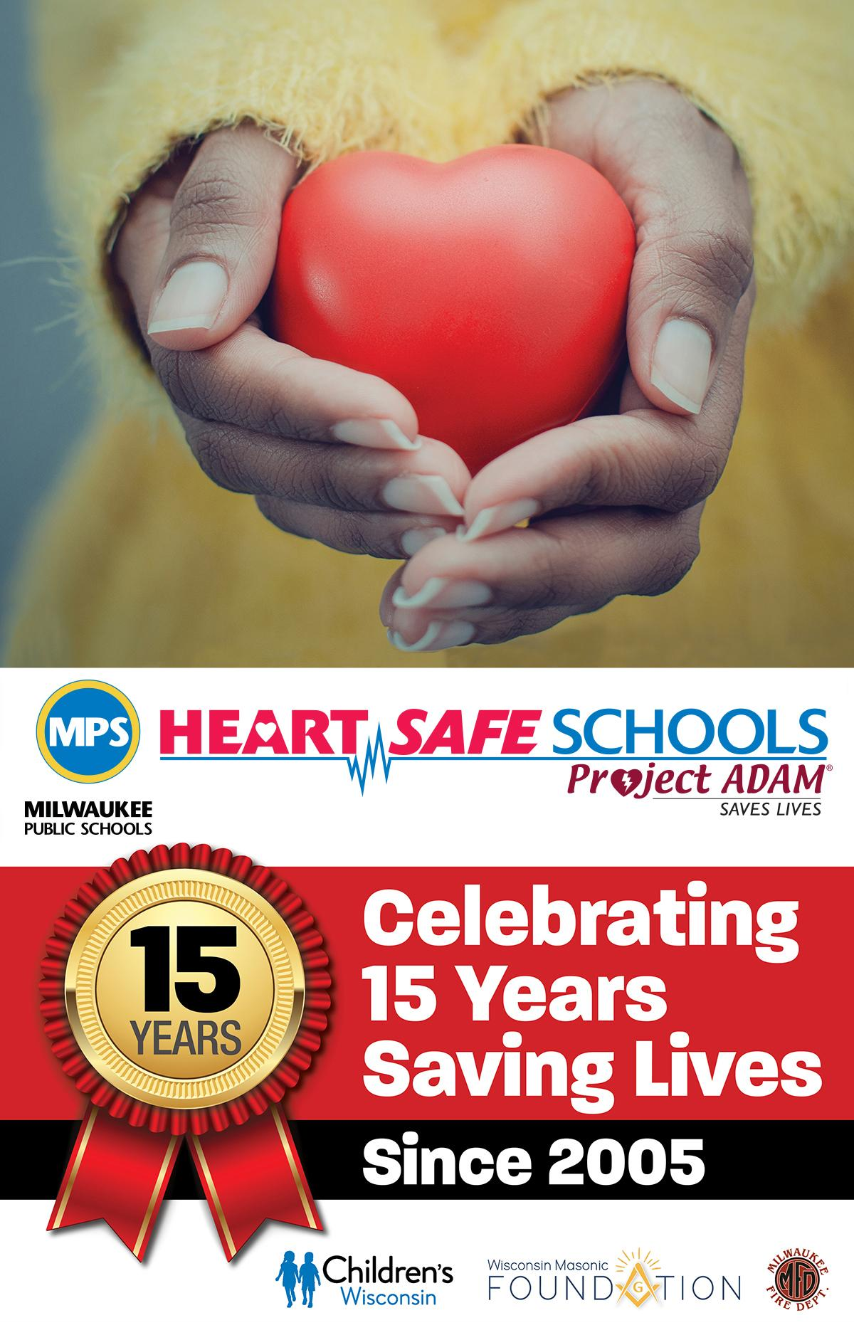 Milwaukee Public Schools celebrates 15 years of saving lives with AEDs