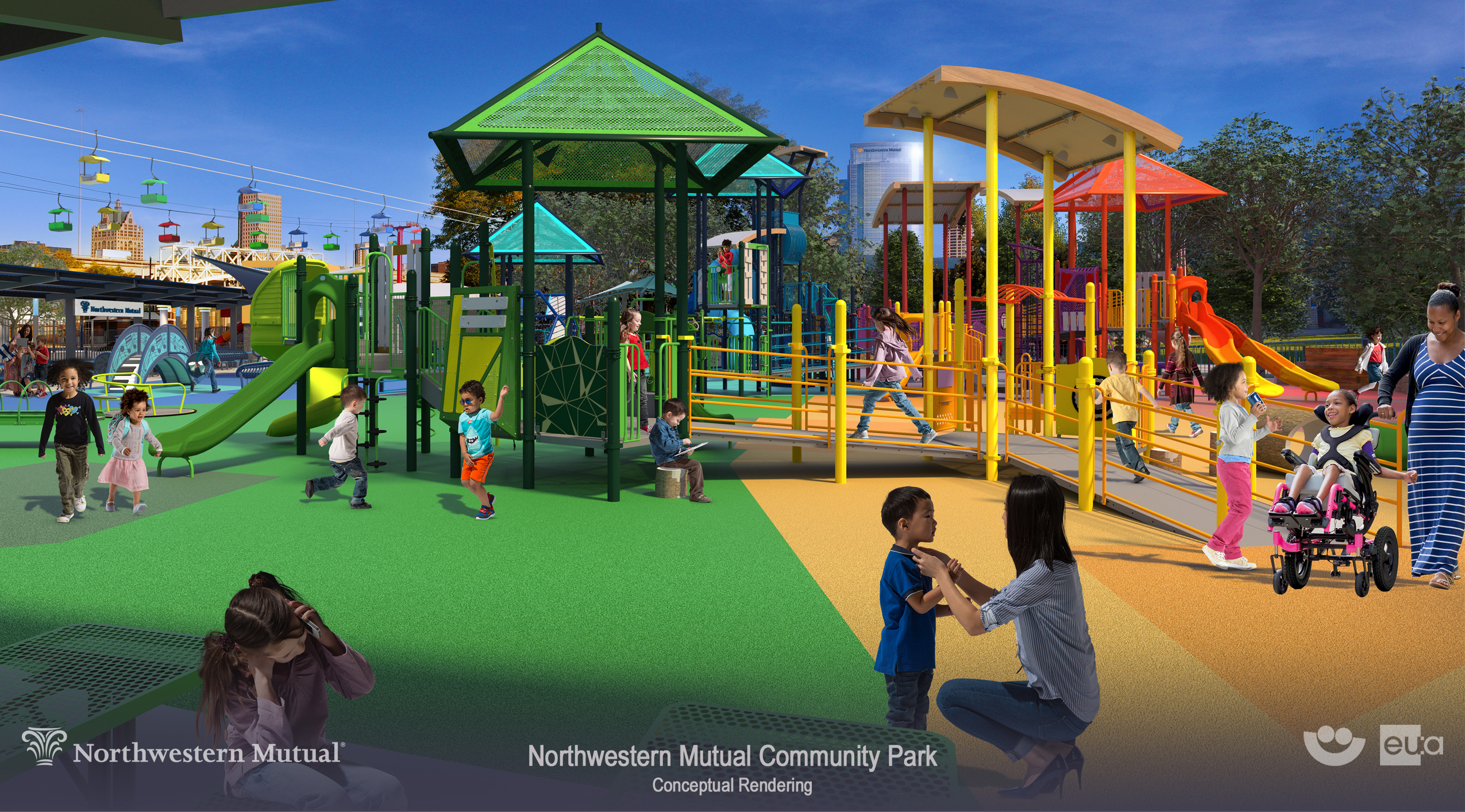 Milwaukee World Festival, Inc. Announces Redevelopment of Northwestern Mutual Children's Theater & Playzone as Community Park