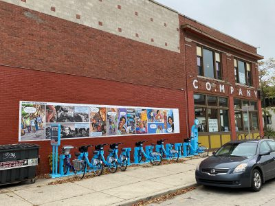 Visual Art: New Murals Urge Milwaukeeans to Vote