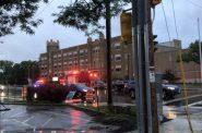 Car crash on Capitol Drive. Photo by Maria Teresa Noth.