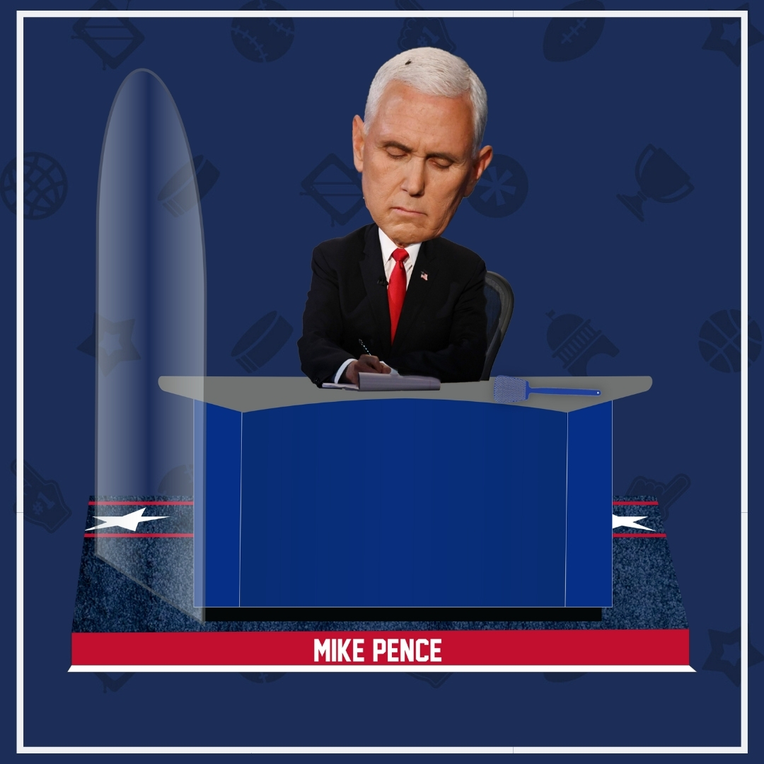 Mike Pence Fly Bobblehead Unveiled