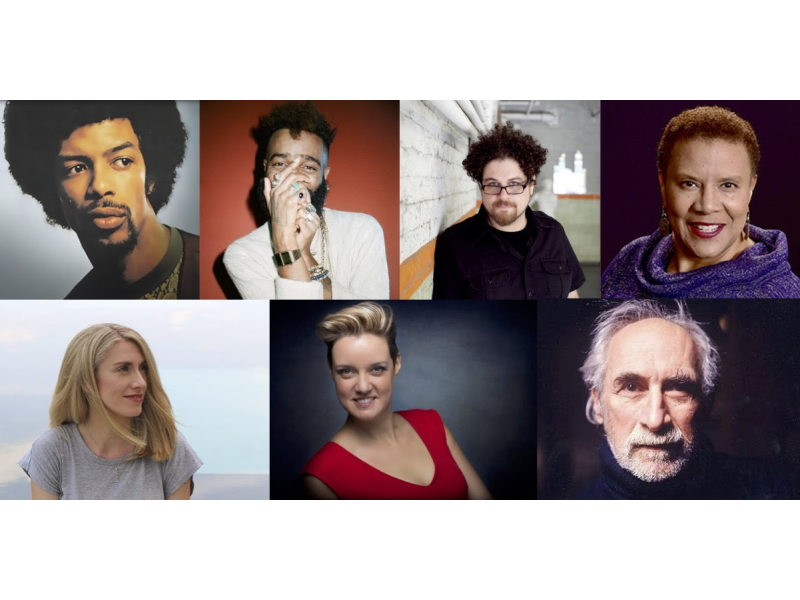 Gil Scott Heron, Klassik, David T. Little, Sheri Williams Pannell, Emma O'Halloran, Sarah Brailey, Frederic Rzewski