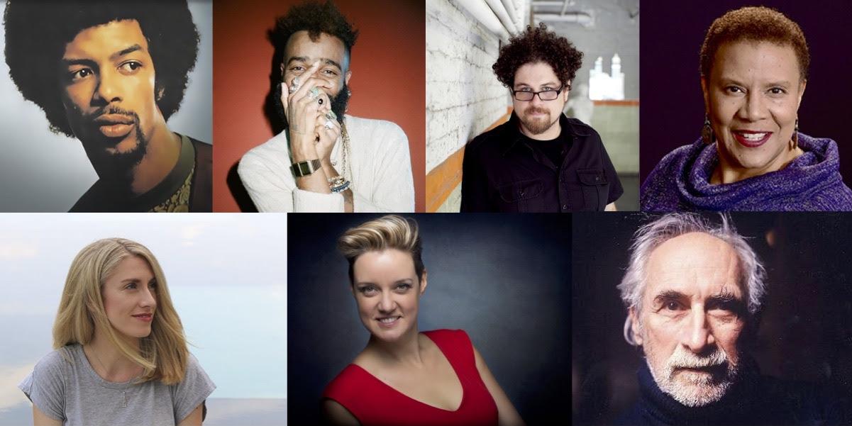 Gil Scott Heron, Klassik, David T. Little, Sheri Williams Pannell, Emma O'Halloran, Sarah Brailey, Frederic Rzewski