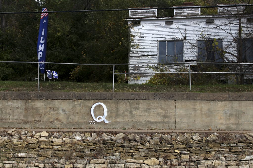 """The property's owner, Terrance Possehl, doesn't live at the property but says """"everybody should be able to hear the Q message."""" Henry Redman 