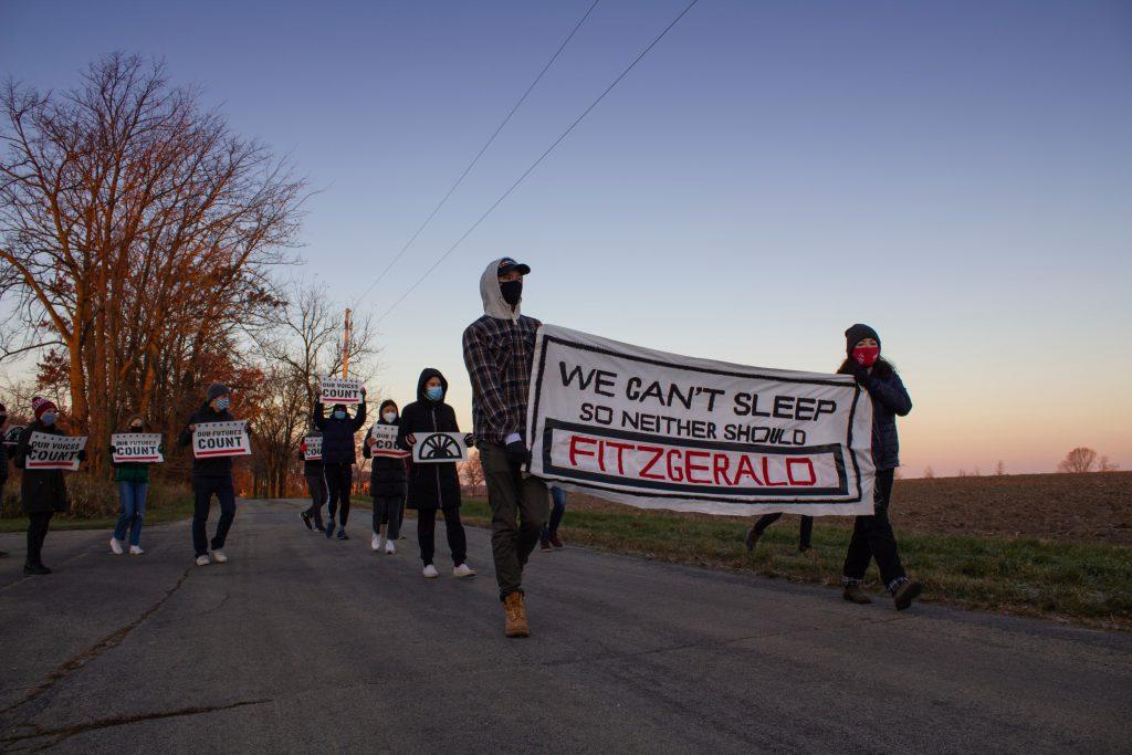 Photo courtesy of the Sunrise Movement.