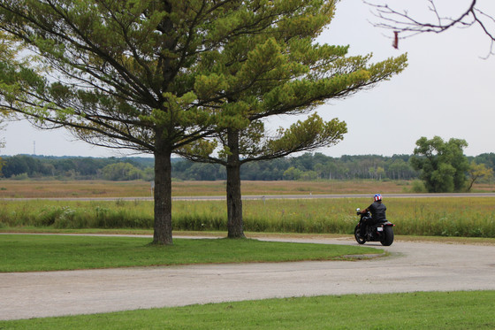 Chuck Leavell is pictured leaving the Kettle Moraine State Forest during the filming of his show, America's Forests with Chuck Leavell. / Photo Credit: Wisconsin DNR
