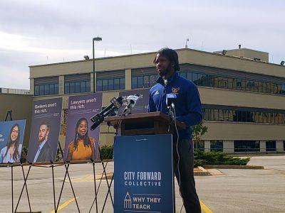 Ad Campaign Seeks More City Teachers