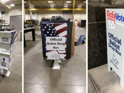 Ballot Dropboxes A Safe Option for Absentee Voting