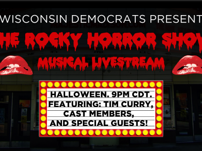 Democratic Party of Wisconsin Announces Rocky Horror Show Livestream on Halloween