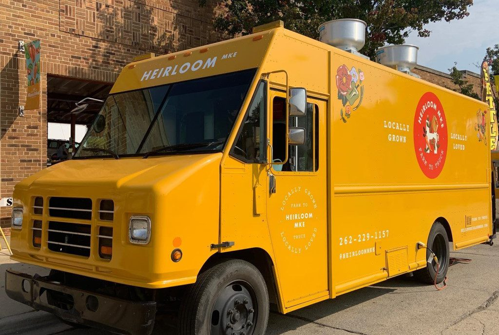 Heirloom Mke food truck. Photo from the Heirloom Mke Facebook page.