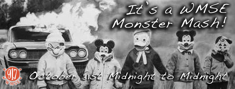 It's a WMSE Monster Mash!