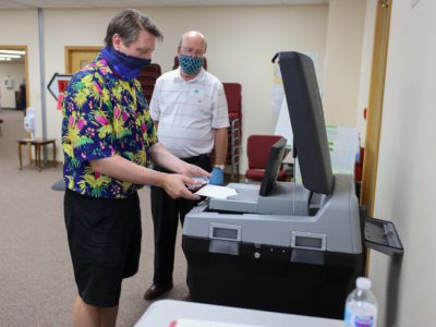 State's Election Technology Seen As Secure