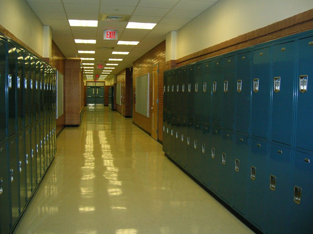 School lockers. Pixabay License Free for commercial use No attribution required