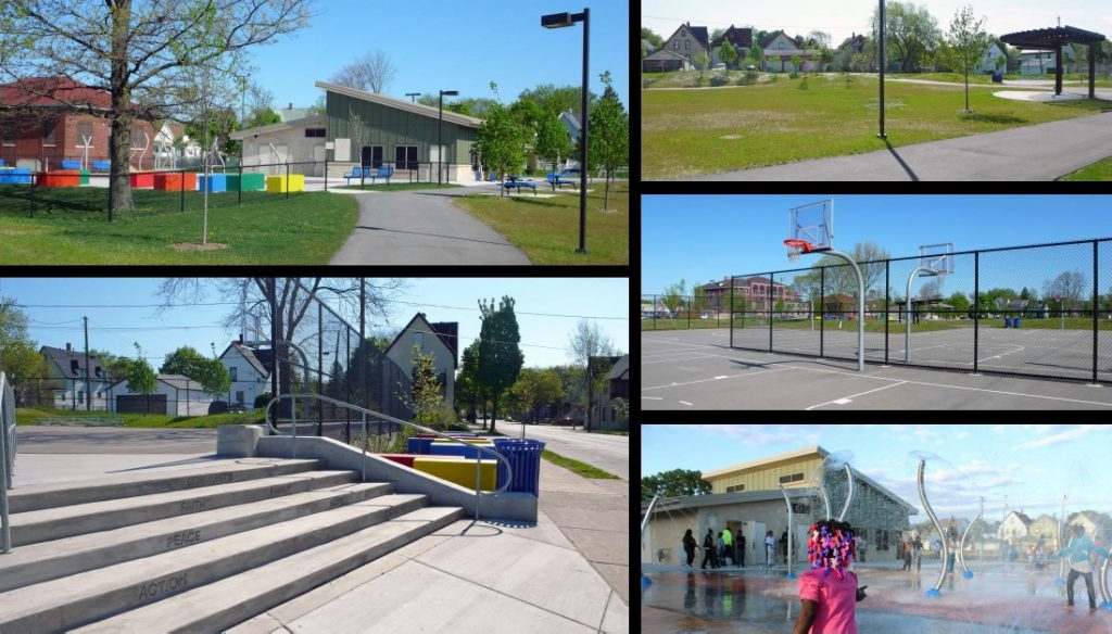 Moody Park. Photos from the City of Milwaukee.