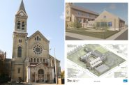 St. Francis of Assisi Church. Renderings by MKB Architects. Photo by Jeramey Jannene.