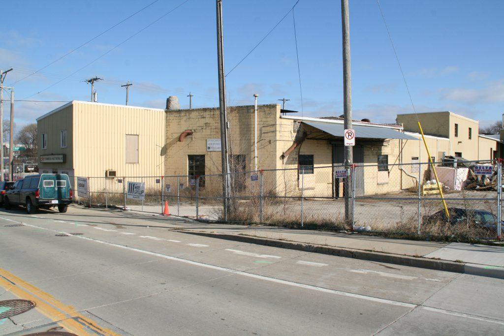 Commercial Heat Treating plant demolition. Photo by Jeramey Jannene.