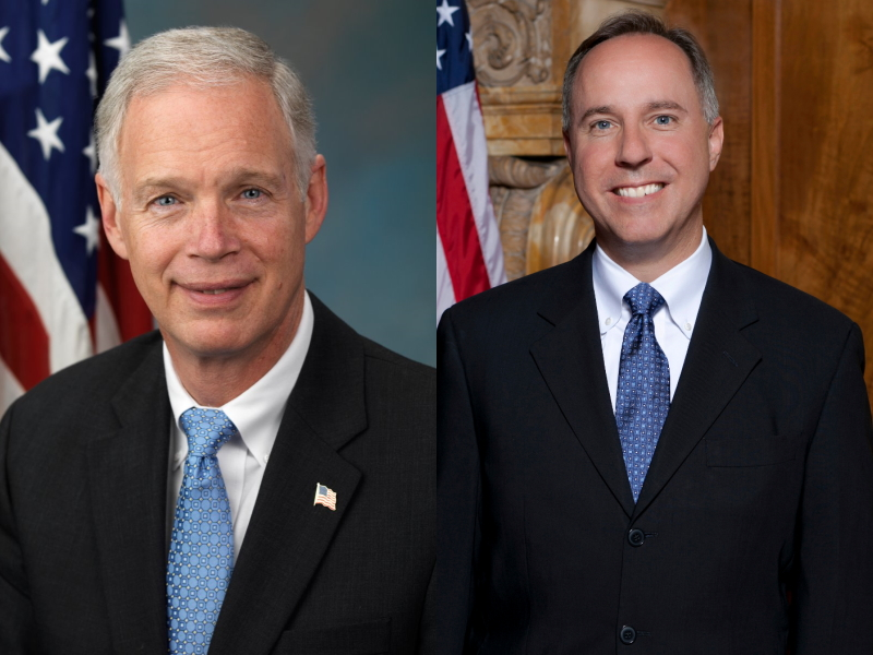 Ron Johnson and Robin Vos.