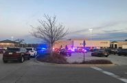 Several law enforcement agencies responded to a shooting at Mayfield Mall in Wauwatosa on Nov. 20, 2020. Madeline Fox/WPR