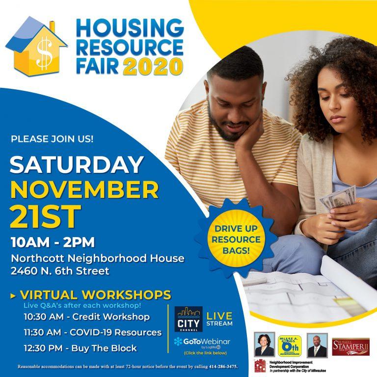 Virtual Housing Resource Fair