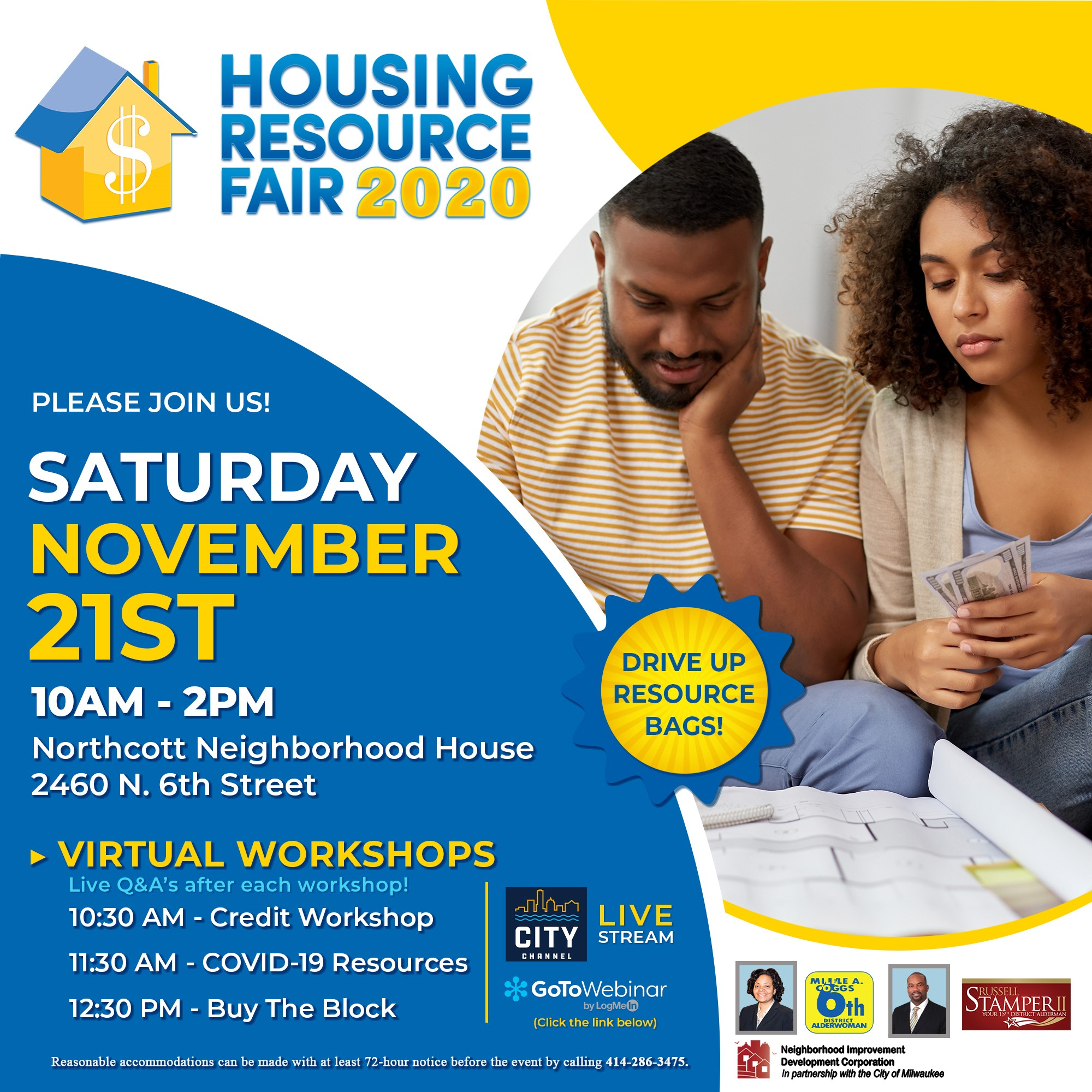 Virtual Housing Resource Fair