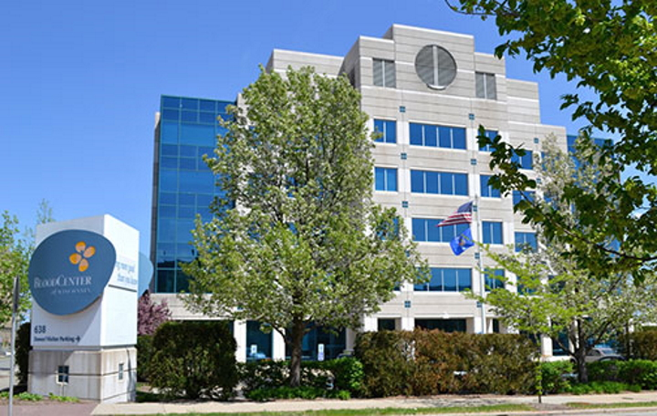 Versiti Blood Center of Wisconsin. Photo from the City of Milwaukee.