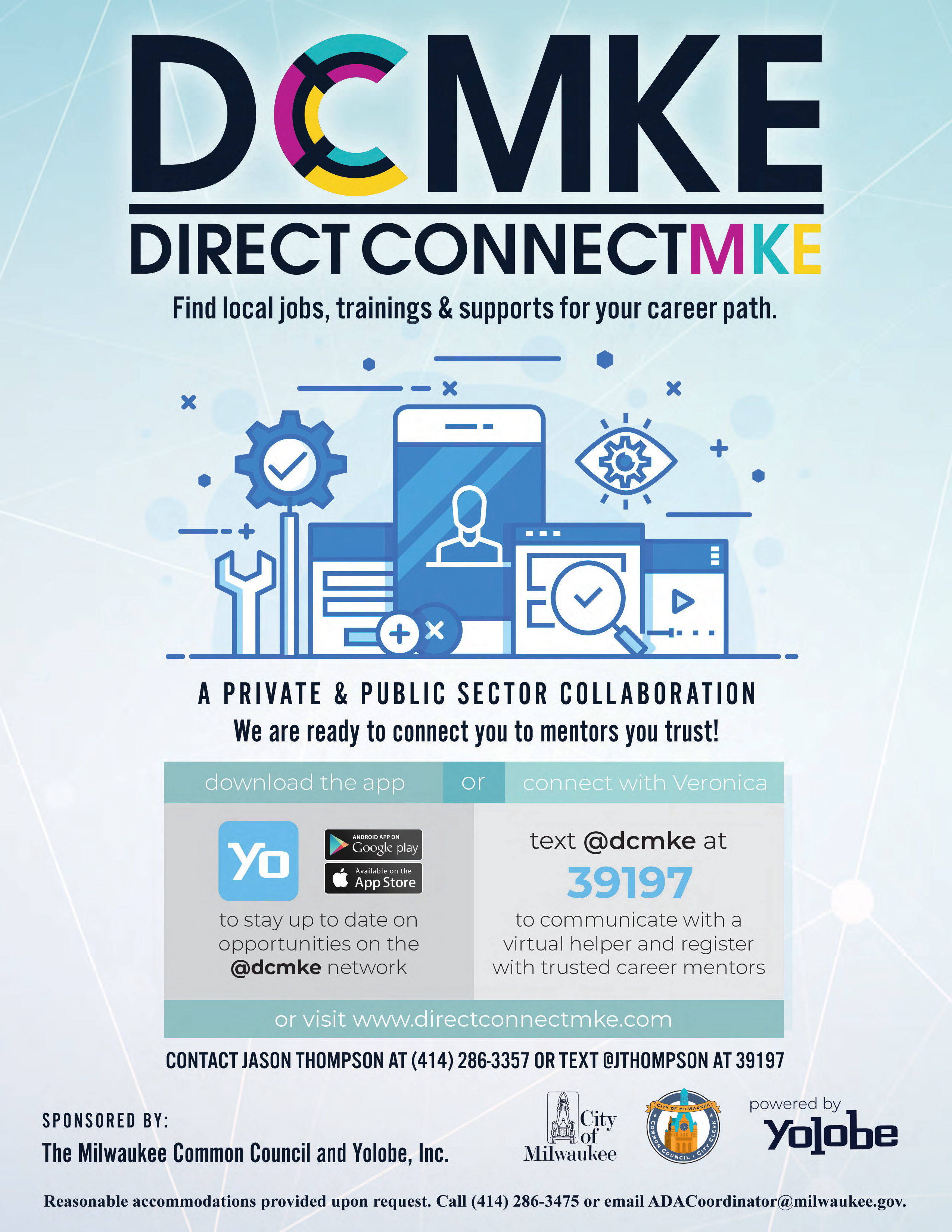 Full launch of new DirectConnectMKE jobs platform taking place TODAY