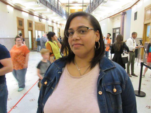 Angela Lang. Photo by: Isiah Holmes/Wisconsin Examiner.