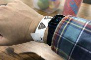 The poop wristbands. Photo by Jeramey Jannene.