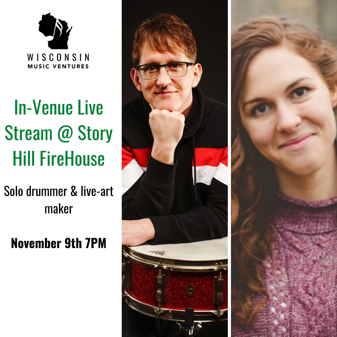 WMV Monday Music at The FireHouse: Dave Schoepke & Kristen Kieckhaefer