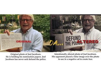Vos, GOP Use Faked Photos Against Opponents