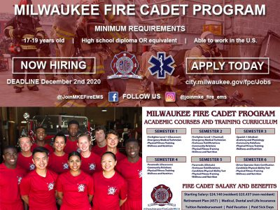 Learn more about Fire Cadet opportunity during virtual recruitment