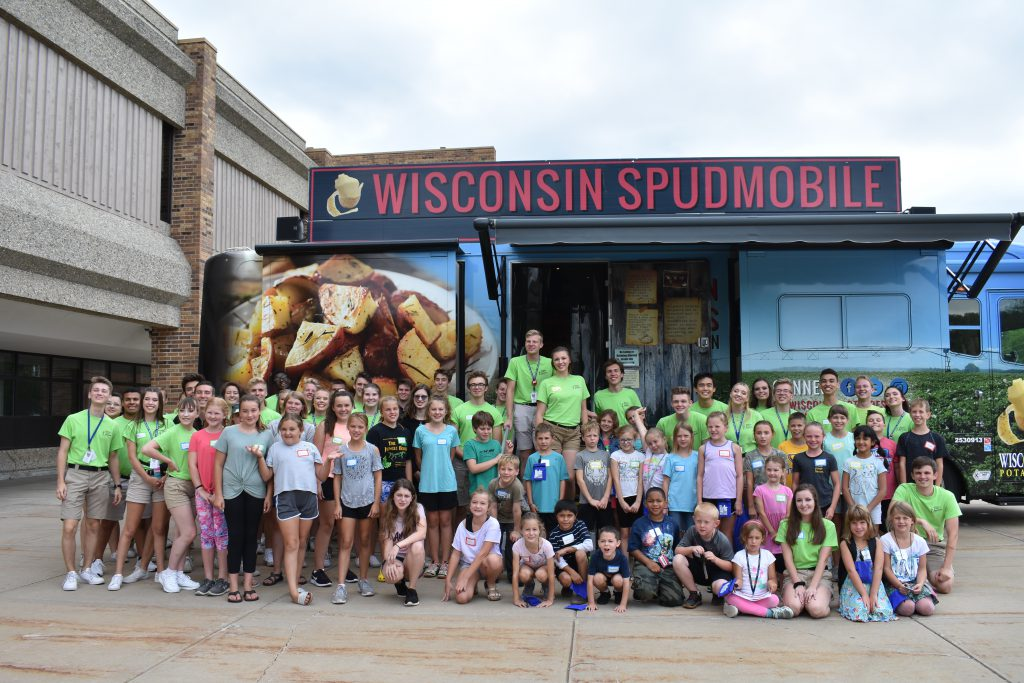 Spudmobile. Photo courtesy of Kids from Wisconsin.
