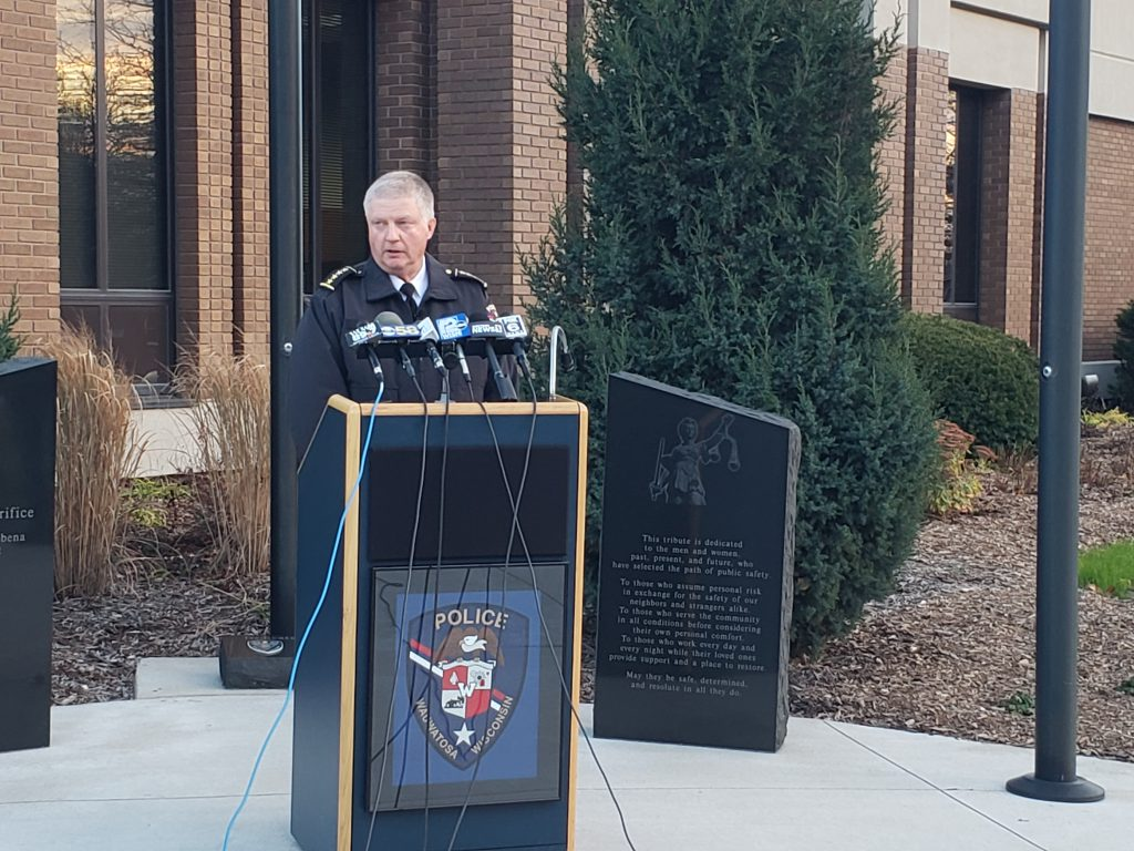 Wauwatosa Police Chief Barry Weber. Photo by Ethan Duran.